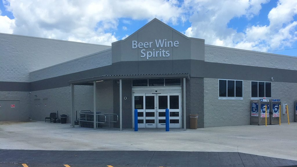 Wal-Mart Beer Wine and Spirits